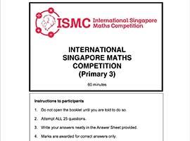 International Singapore Maths Competition